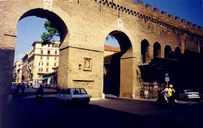 Borgo Sant' Angelo, between the Vatican and Castel Sant' Angelo
